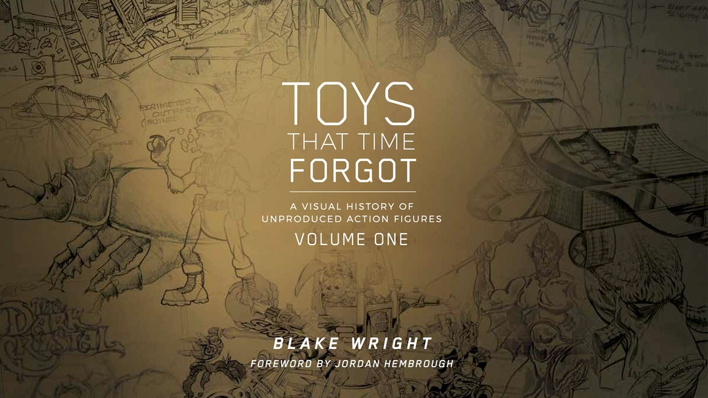 TOYS THAT TIME FORGOT - A book about unproduced toys project video thumbnail