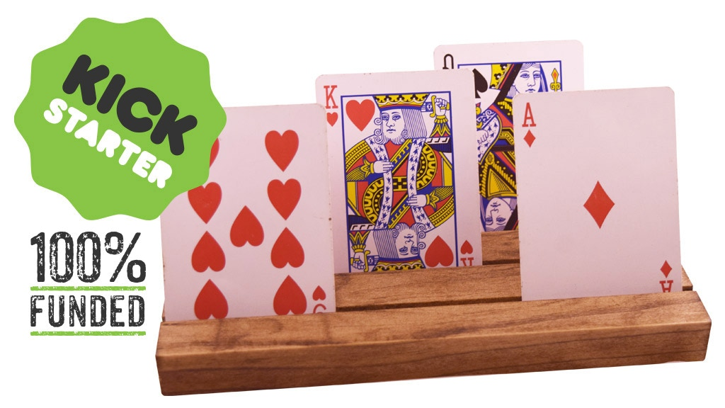 LUXURY HAND CRAFTED PLAYING CARD HOLDERS project video thumbnail
