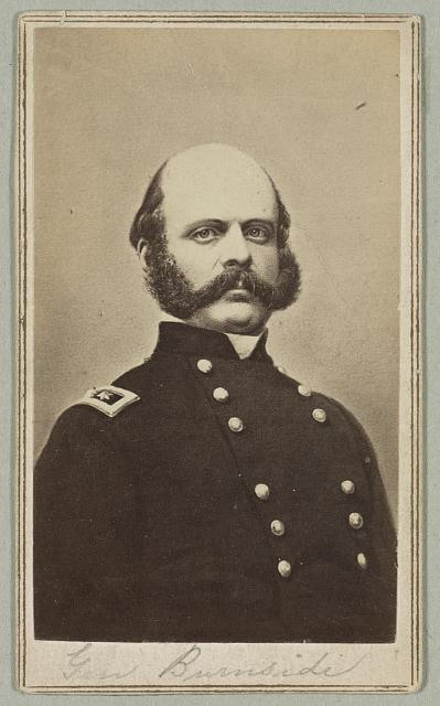 General Burnsides - Photo from the Library of Congress