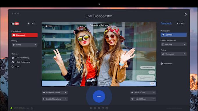Live Broadcaster Software (Windows/Mac)