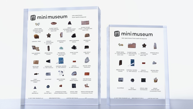 Large and Small Third Edition Mini Museums
