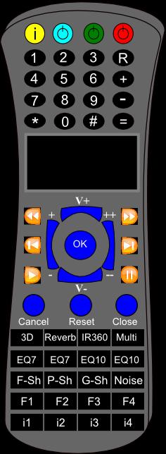 vlrFilter Radio Remote Control