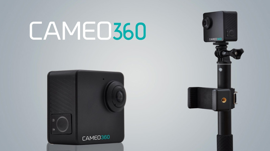 CAMEO360 - The World's Smallest Dual Lens 360º 4K Camera project video thumbnail