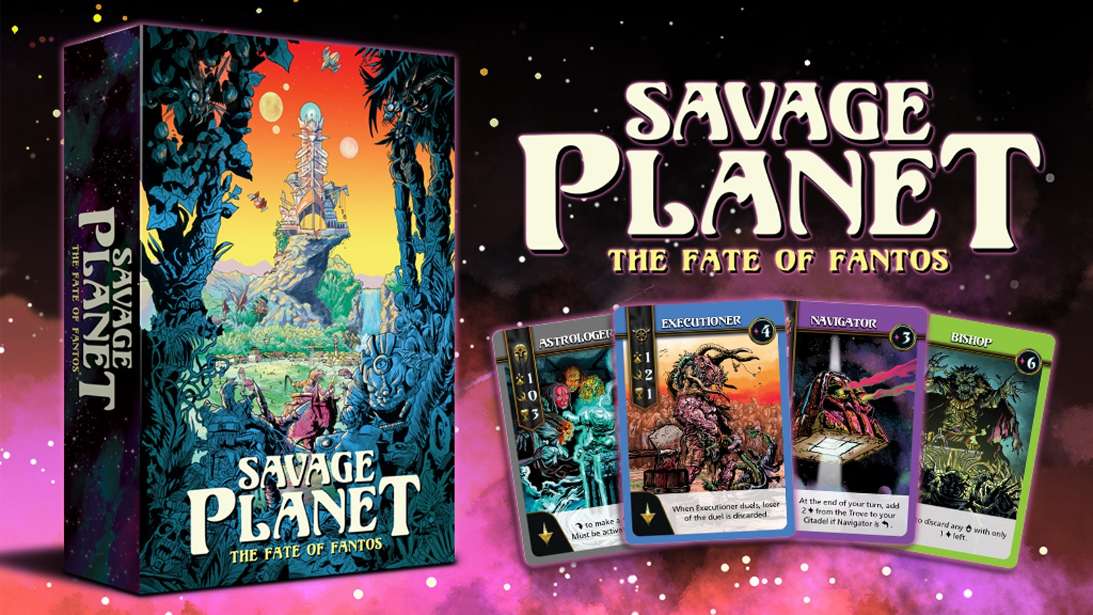 Fight for the Fate of Fantos in this beautifully illustrated, dark fantasy card game inspired by comics and cartoons from the '80s!