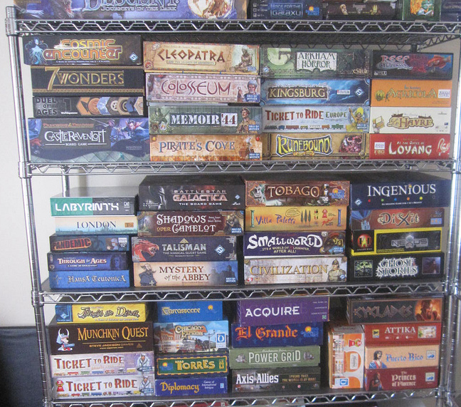 An example of the games stock!