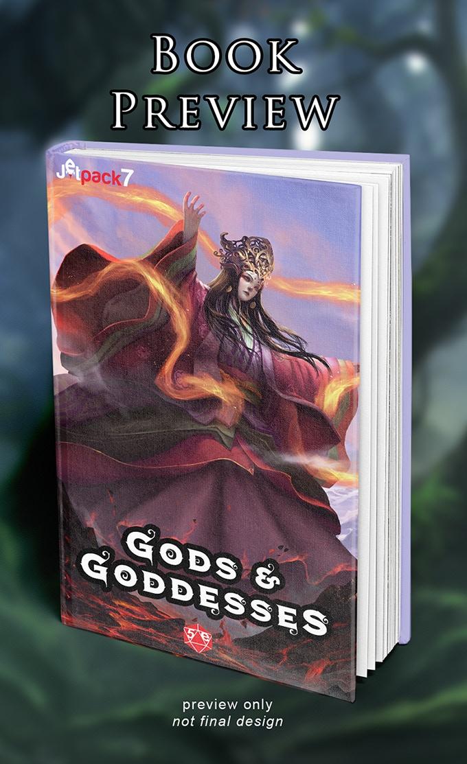 Gods and Goddesses: a 5th Edition Supplement by Jetpack7 — Kickstarter