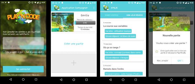 L'application mobile Compagnon pour les parents