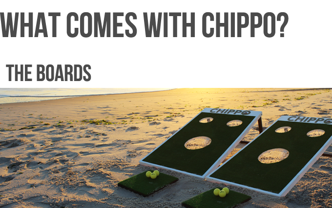 Chippo The New Golf Game For Beach Backyard Amp Tailgate