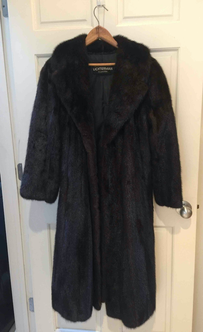 The mink coat.