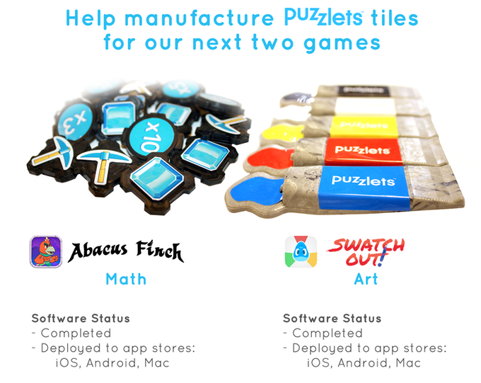 Puzzlets Art & Math Add-on Games - Megafounder