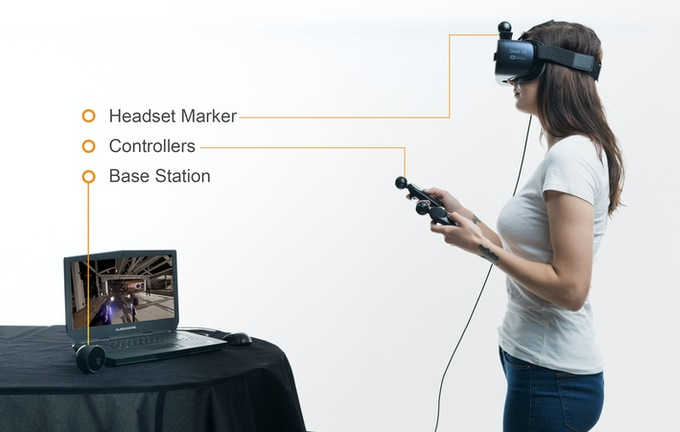 NOLO: VR Motion Tracking for Mobile and SteamVR Play by Lisa Zhao