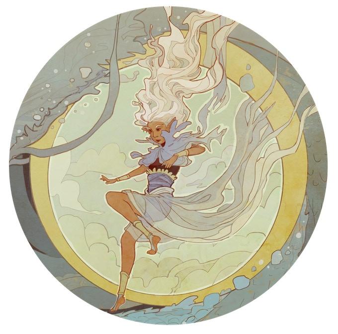 The Sky Goddess, Ne'lil