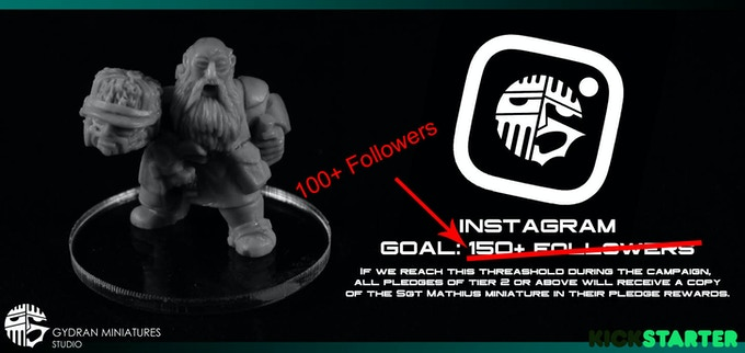 Mathius will be added as a reward to all Tier 2 backers at 100+ Instagram Followers.