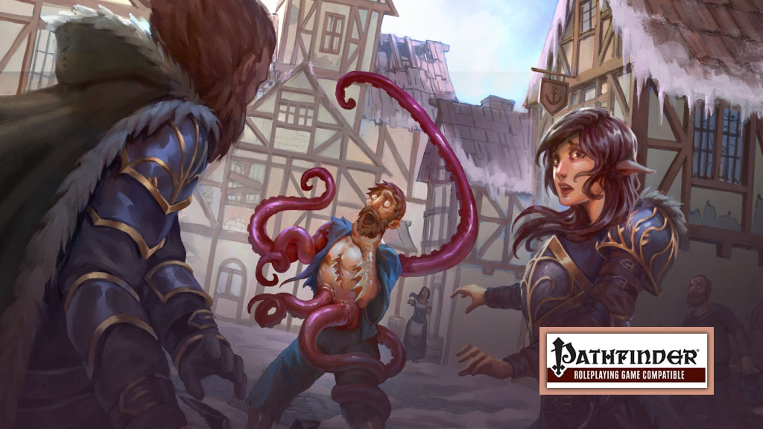 The Claws of Madness (a Pathfinder adventure module) by