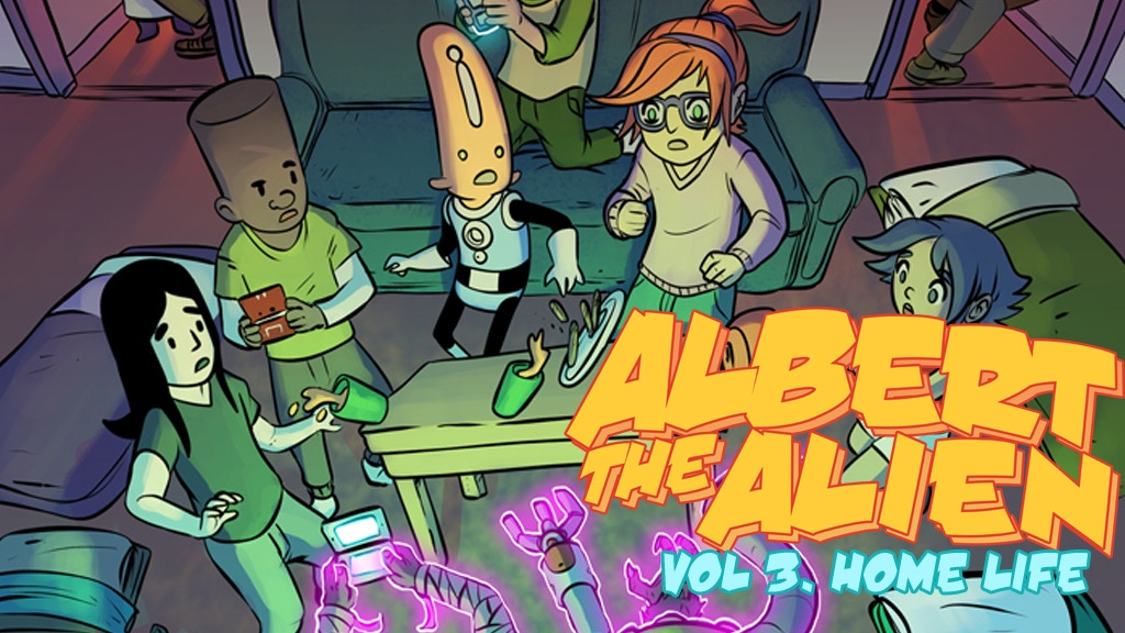 Albert the Alien Vol 3: Home Life project video thumbnail
