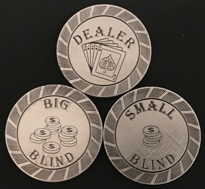 Three Chip Set in 1oz Pure Silver