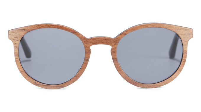 McCullum Rx Walnut Sunglasses