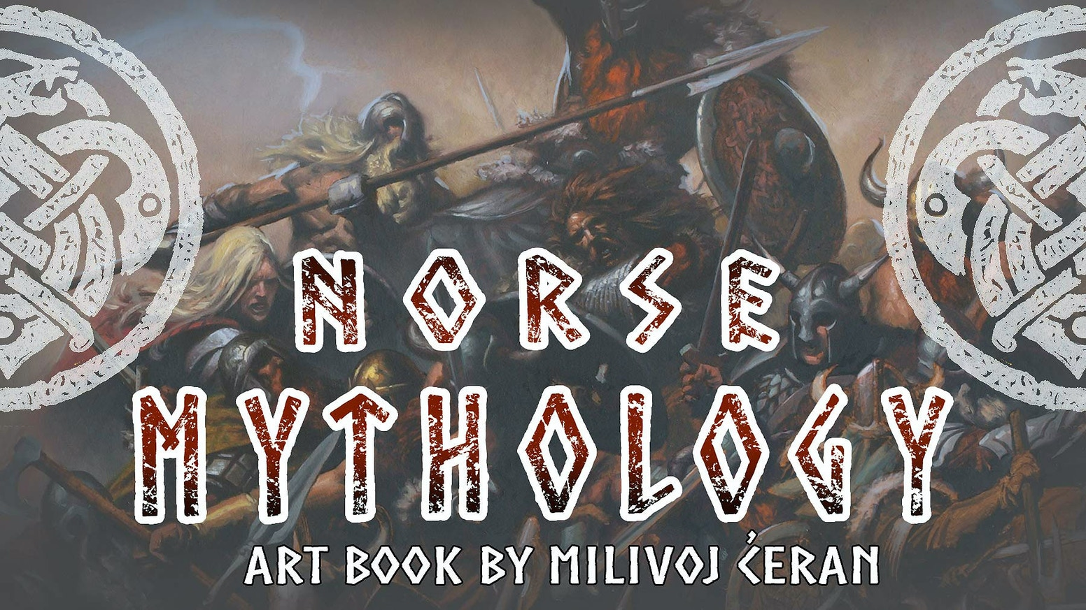 milivoj Ćeran norse mythology art book by artorder kickstarter