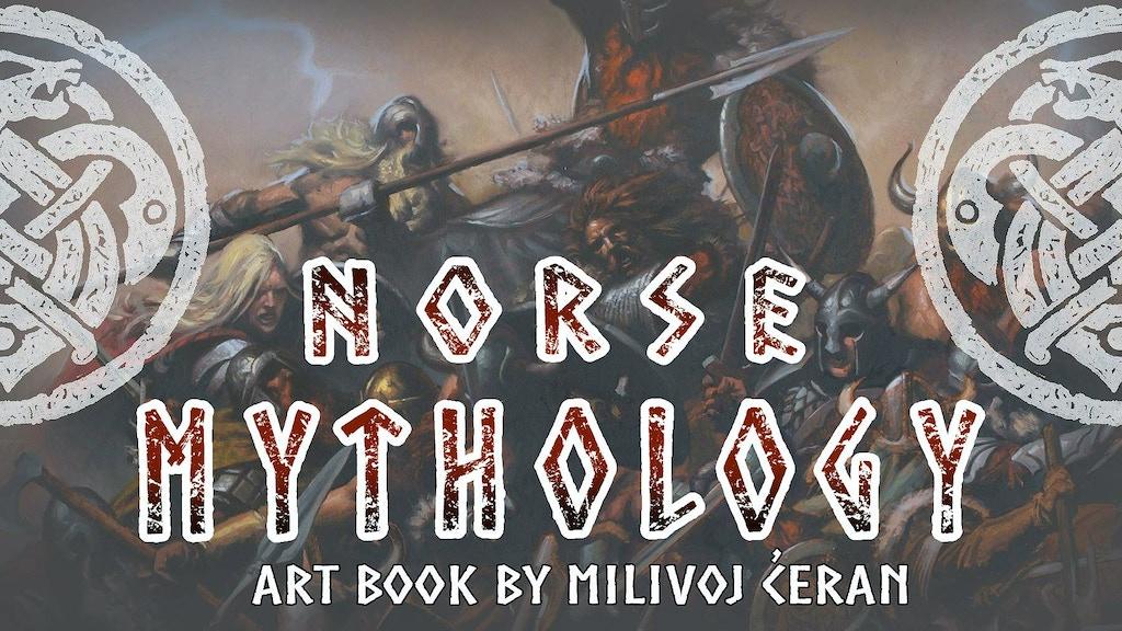 Milivoj Ćeran Norse Mythology Art Book project video thumbnail