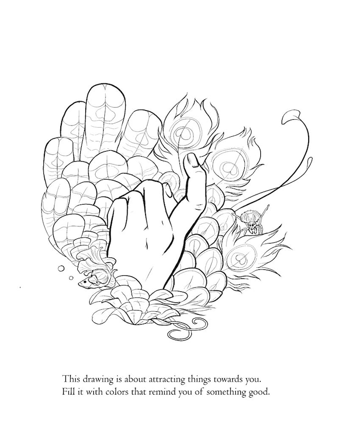 Seven Strengths: a Coloring Book for Resiliency by Rhea