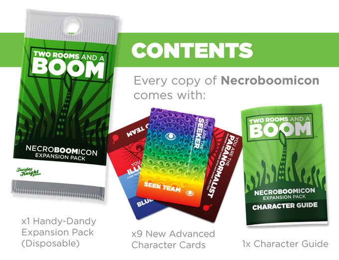 Necroboomicon: the first expansion for Two Rooms and a Boom! by ...