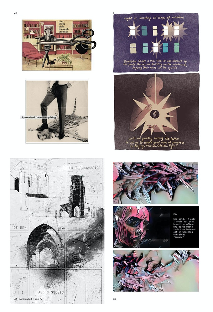 from INK BRICK nos 3–6   by Catherine Bresner, Anna Krztoń, Aurélien Leif, Alexey Sokolin