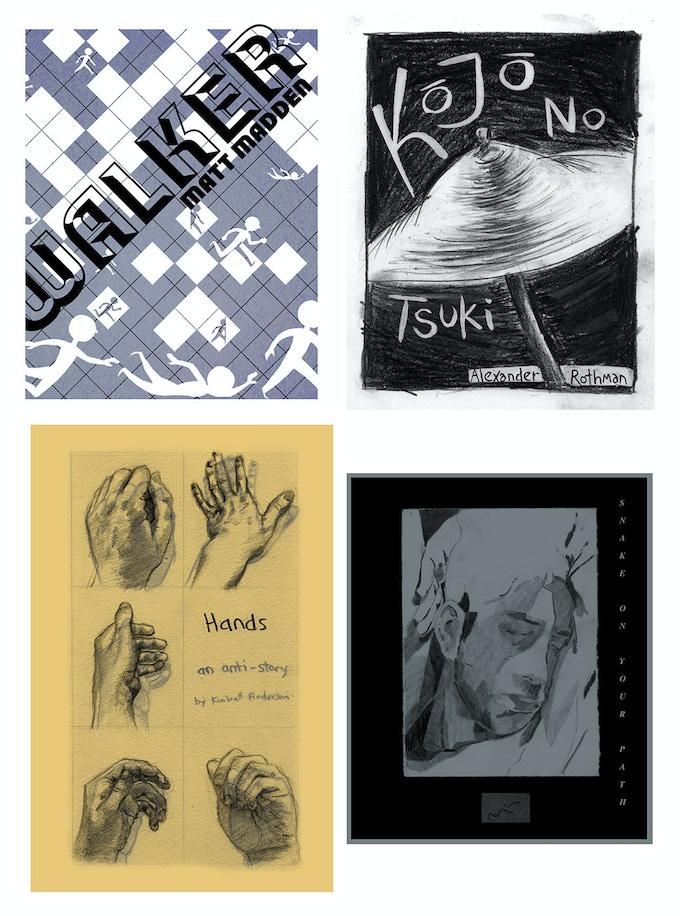 INK BRICK minis   by Matt Madden, Alexander Rothman, Kimball Anderson, Anthony Cudahy