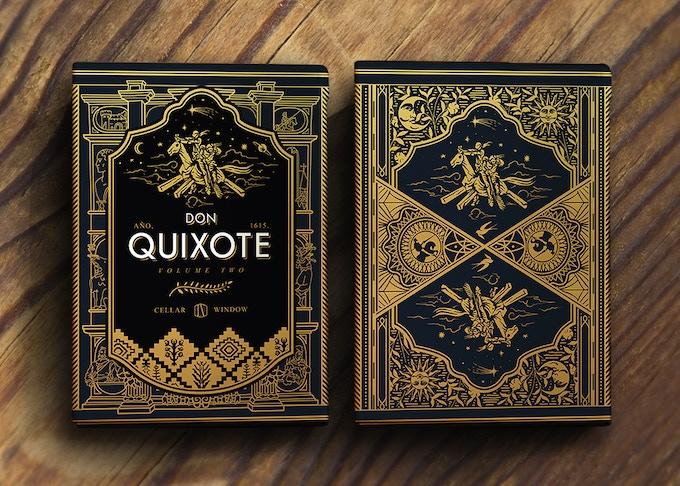 "The Don Quixote Vol.2 ""Clavileño"" deck"