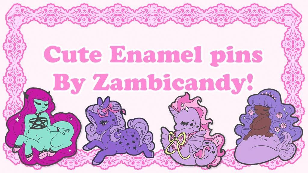 Mermaids & centaurs & sea unicorns oh my - Enamel pins project video thumbnail