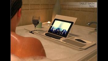 The Tablet Bath Tray