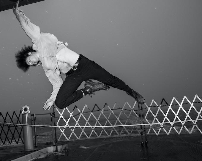 Matty Davis--he won't make you do this : ) Photograph by Jonno Rattman.