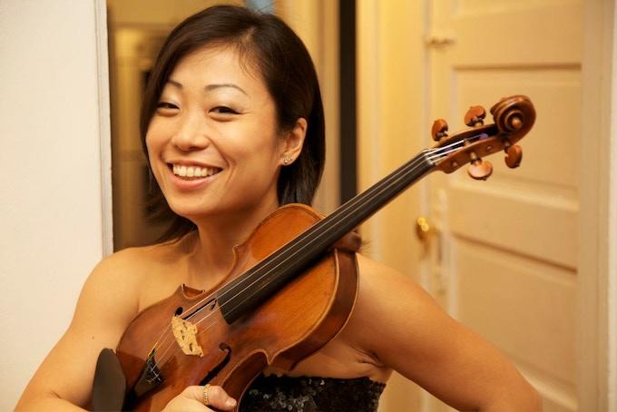 Pauline Kim, Grammy-nominated violinist.