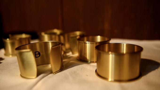 Brass Bracelets Prototypes