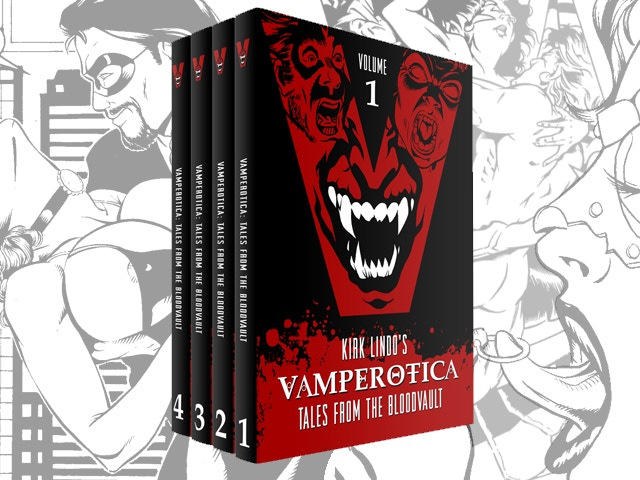 Vamp erotica tales from the blood vault