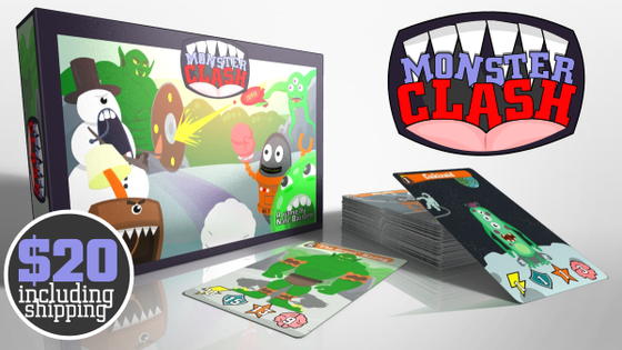 Monster Clash- The card game