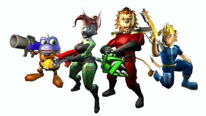 Left to right: Kroakus, Sylvia, Groza, Lance