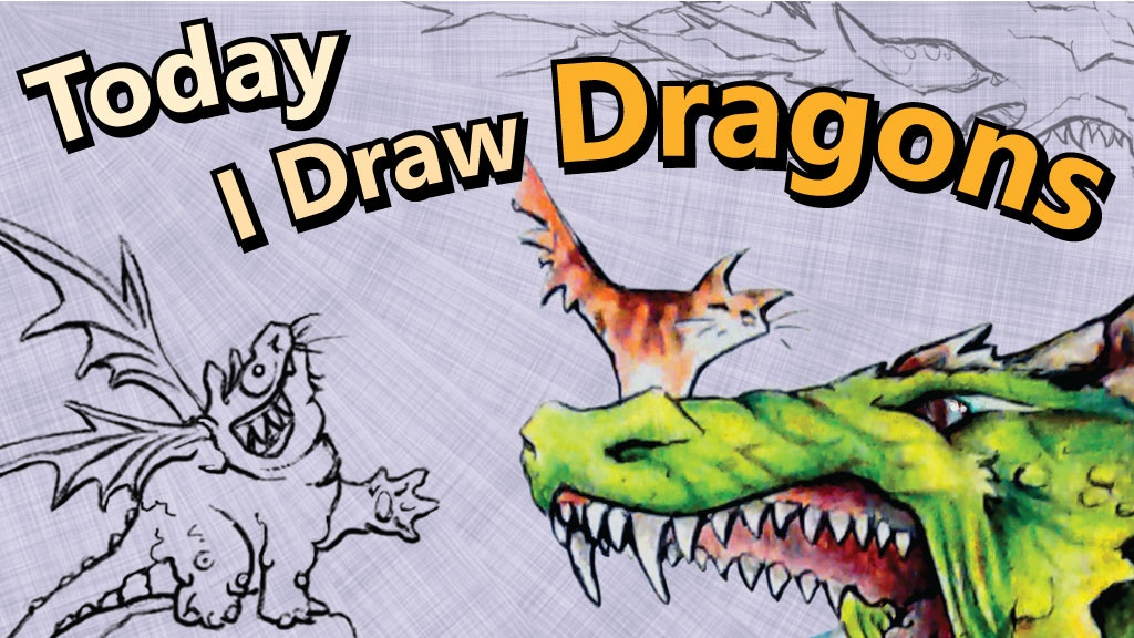 Today I Draw Dragons project video thumbnail