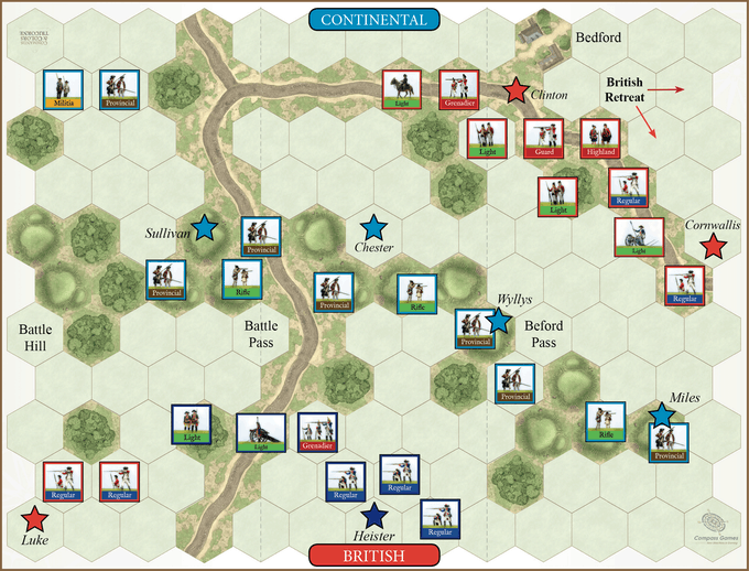 Long Island - British Flank March - 27 August 1776
