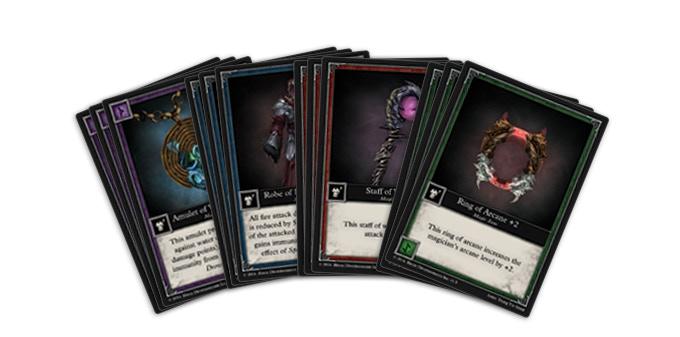 20 Magic Item Cards