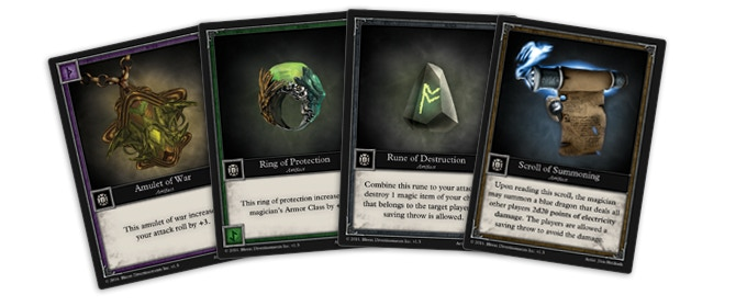 4 Artifact Cards