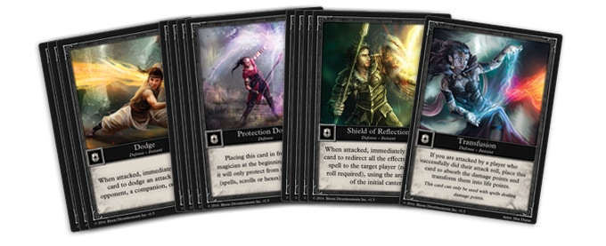 12 Defense Cards