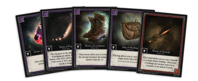 8 New Magic Item Cards (Work in progress version)