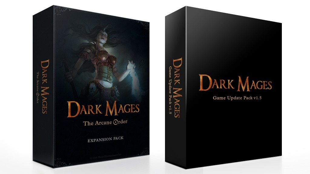 Dark Mages: The Arcane Order + Game Update v1.5 project video thumbnail