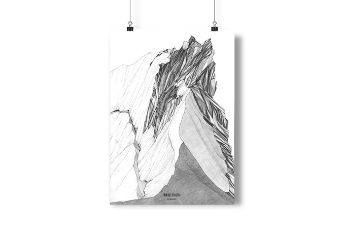 A2 poster /// Made in Italy /// Illustration by Valeria Pigozzi