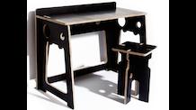 EkokidSpaced In - No Screws Eco Furniture for Kids