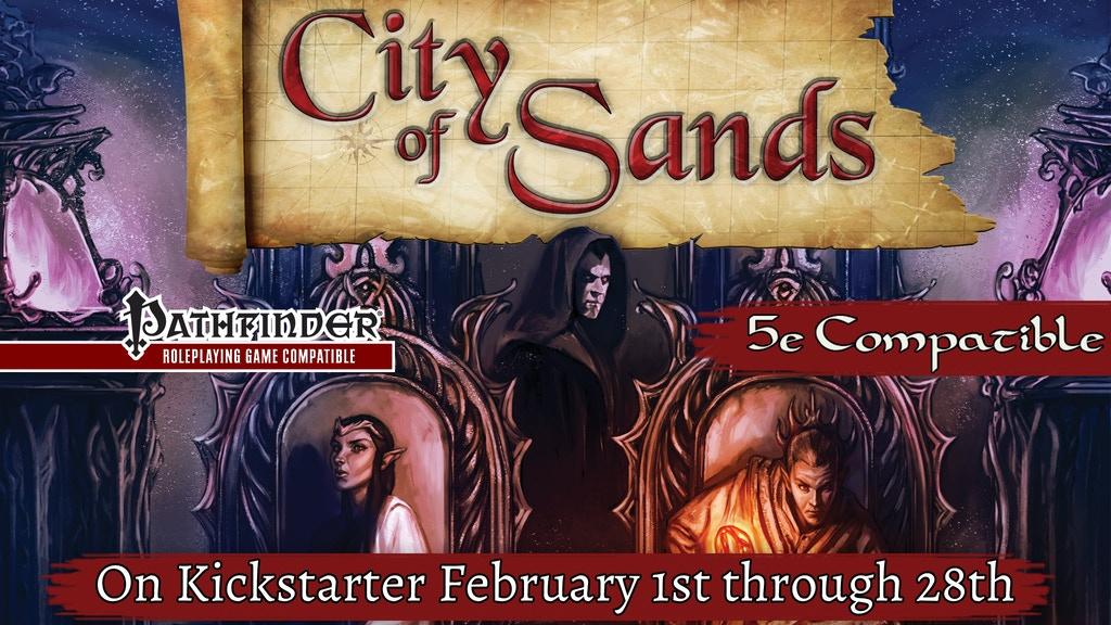 The City of Sands for 5th Edition and Pathfinder! project video thumbnail