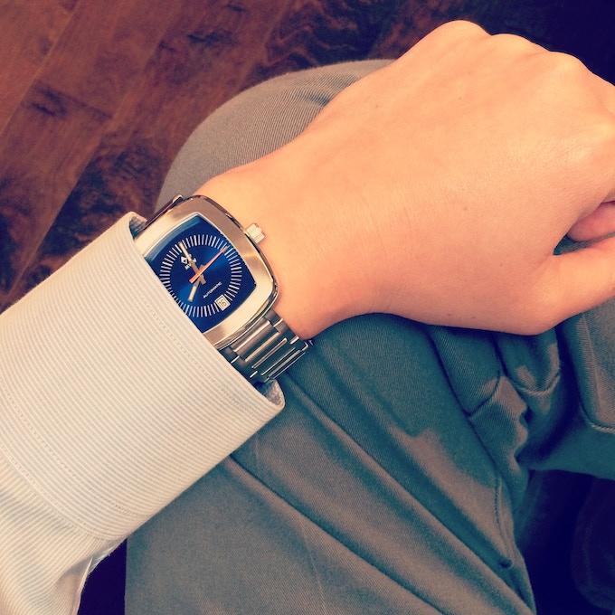 Wristshot photo