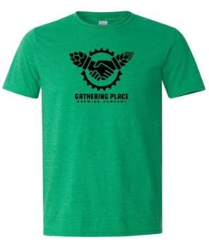 Ringspun Heather Green T-shirt