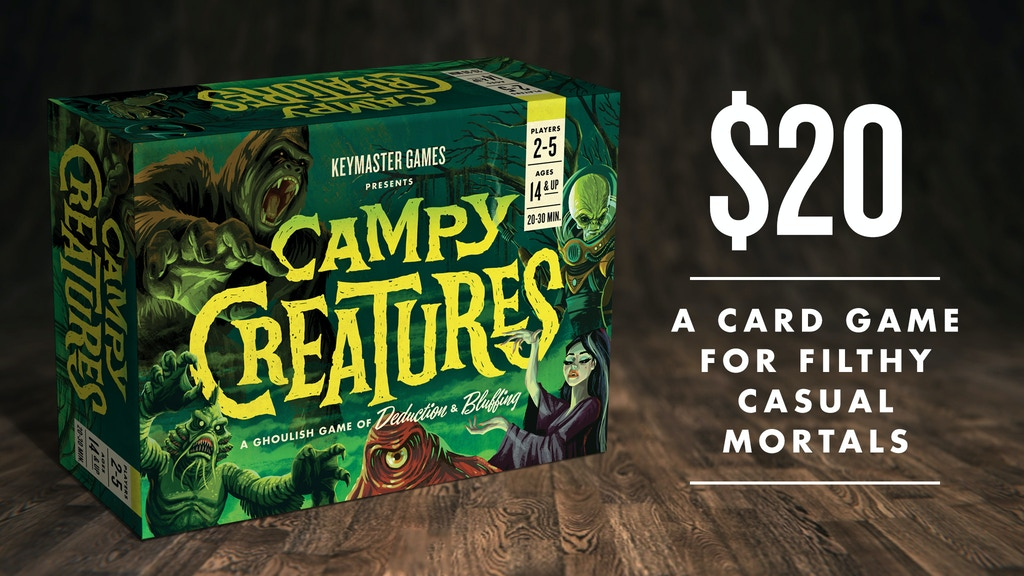 Campy Creatures project video thumbnail