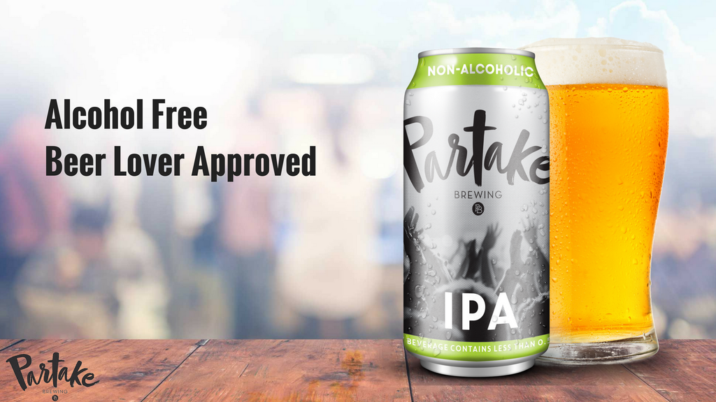 Partake Brewing. Alcohol Free. Beer Lover Approved. project video thumbnail